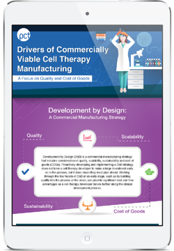 Drivers of Commercially Viable Cell Therapy Manufacturing